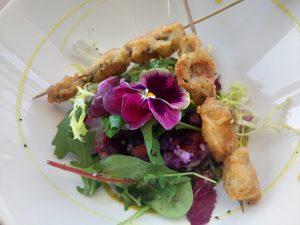 o bontemps beziers salade gourmande languedoc