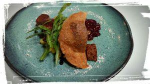 foie gras mangue le terminal 1 cru la liviniere languedoc