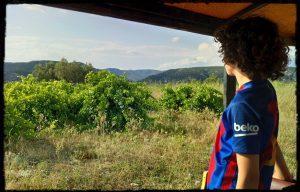 balade vigneronne saint jean de fos petit train languedoc oenotourisme