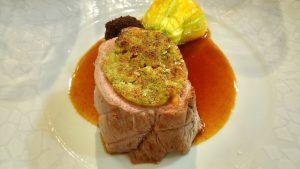filet de veau régalades de montpeyroux sucré salé en languedoc