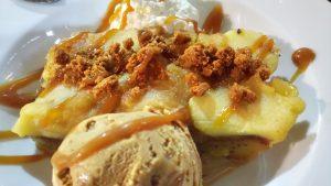 tarte aux pommes l'entonnoir halles de sète sucré salé en languedoc