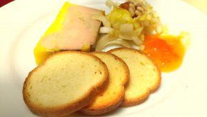 foie gras table aurore saint guilhem sucré salé en languedoc