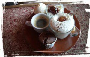 café gourmand, sucré salé en languedoc