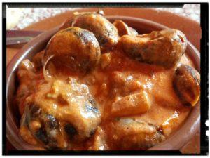 escargots à la catalane sucré salé en languedoc