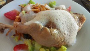 confit de canard la petite fringale saint jean de la blaquière sucré salé en languedoc