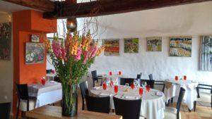 restaurant chantovent minerve sucré salé en languedoc