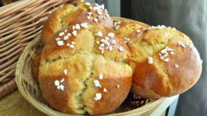brioche le pain levé azillanet sucré salé en languedoc