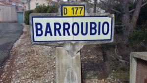 BARROUBIO SUCRE SALE EN LANGUEDOC SAINT JEAN DE MINERVOIS