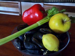 ingrédients principaux salade francis sucré salé en languedoc