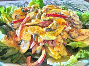 salade francis sucré salé en languedoc