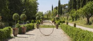jardin à la française domaine de rieussec gignac sucré salé en languedoc