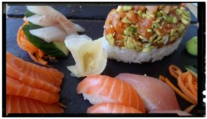 sushis by les caves gourmandes gignac sucré salé en languedoc