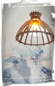 jolie lanterne contemporaine sushi by les caves gourmandes gignac