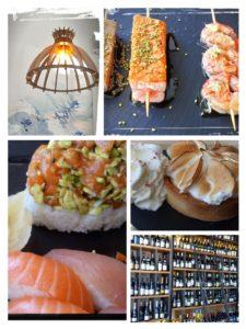 sushi by les caves gourmandes gignac sucré salé en languedoc