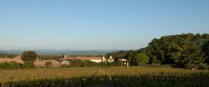 vignoble chateau capion aniane sucré salé en languedoc